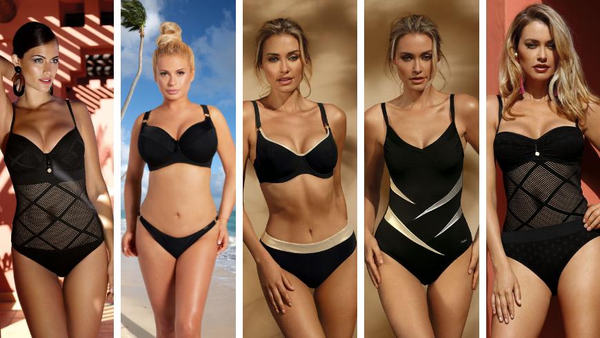 Czarne stroje kąpielowe – czyli klasyka zawsze w modzie